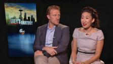 Greys Anatomy stars Sandra Oh and Kevin McKidd talk to OTRC.com about in season 10 of the hit ABC series (January 2014 interview). - Provided courtesy of OTRC
