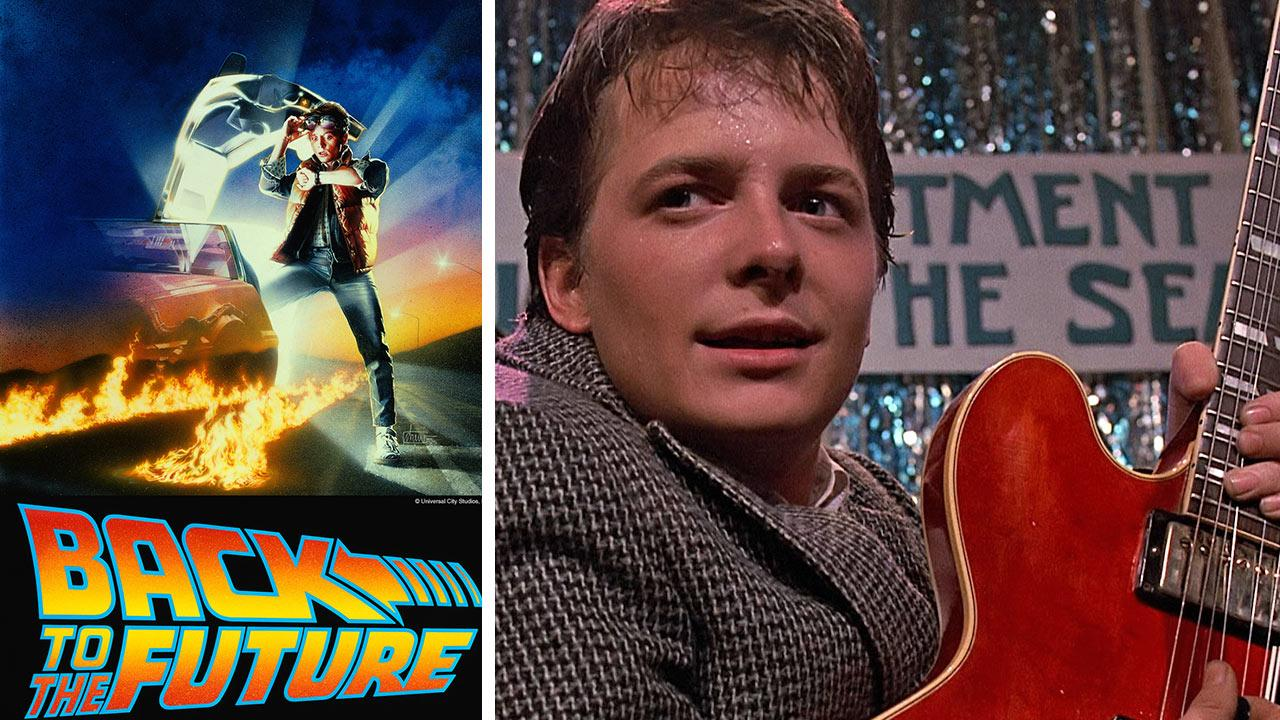 Michael J. Fox appears in a publicity photo and in a scene from the 1985 movie Back To the Future. It was announced on Jan. 30, 2014 that a musical adaptation is set to debut in London in 2015.