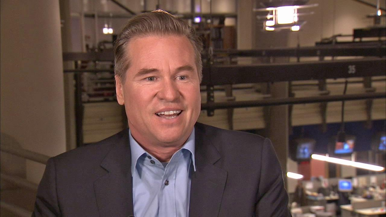 Val Kilmer discusses playing Mark Twain in one-man play Citizen Twain, his past film career and Batman in an interview with OTRC.com in June 2013.