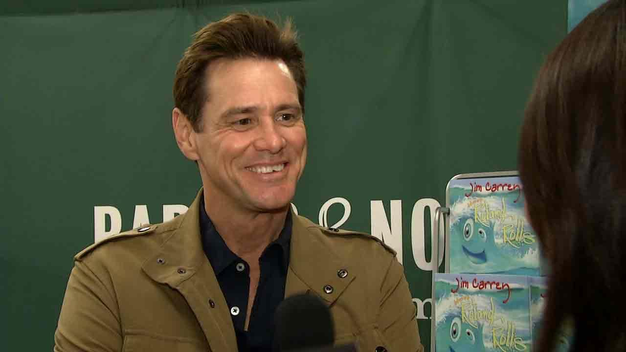 Jim Carrey spoke to OTRC.com about his new childrens book and filming Dumb and Dumber: To.