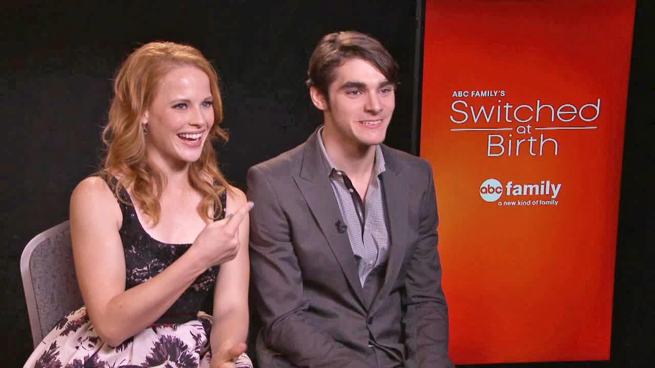 Katie Leclerc and RJ Mitte talk to OTRC.com on Jan. 17, 2014.