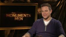 Matt Damon talks to OTRC.com about the 2014 film The Monuments Men. - Provided courtesy of none / OTRC