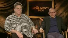John Goodman and Bob Balaban talk to OTRC.com about the 2014 film The Monuments Men. - Provided courtesy of none / OTRC