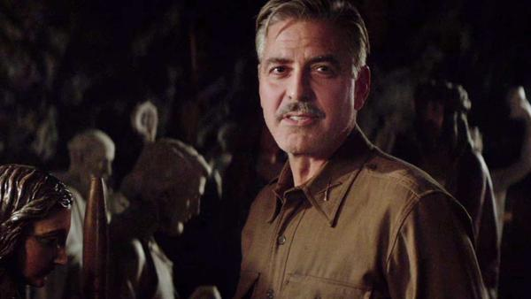 George Clooney appears in The Monuments Men trailer. The film hits theaters on Feb. 7, 2014.