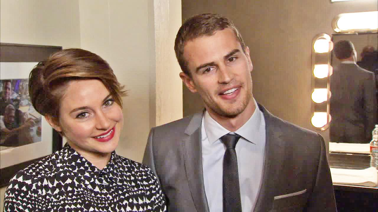 Shailene Woodley and Theo talk to OTRC.com in an interview on Feb. 3, 2014.