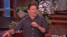 Channing Tatum appears on The Ellen DeGeneres Show on Feb. 6, 2014. The Magic Mike actor said he is fappy, or fat and happy. - Provided courtesy of Warner Bros. Television