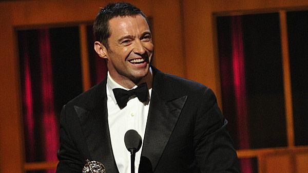 Hugh Jackman receives a special Tony Award for his contributions to the Broadway community and to the Actors Equity Association on June 10, 2012. The actor will return to host the annual ceremony for the fourth time on June 8, 2014. - Provided courtesy of Heather Wines / CBS