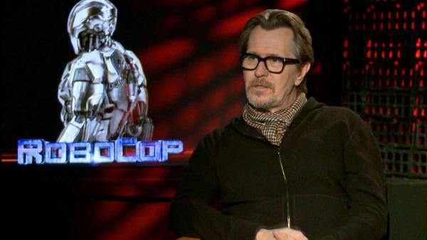 Gary Oldman talks to OTRC.com about the 2014 film RoboCop (February 2014 interview). - Provided courtesy of OTRC