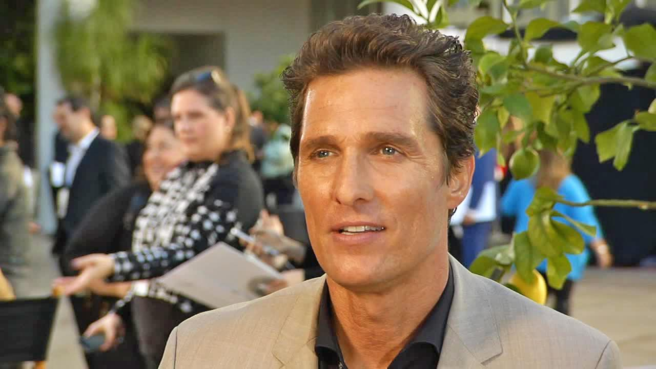 Matthew McConaughey appears in an interview with OTRC.com on Feb. 10, 2014.