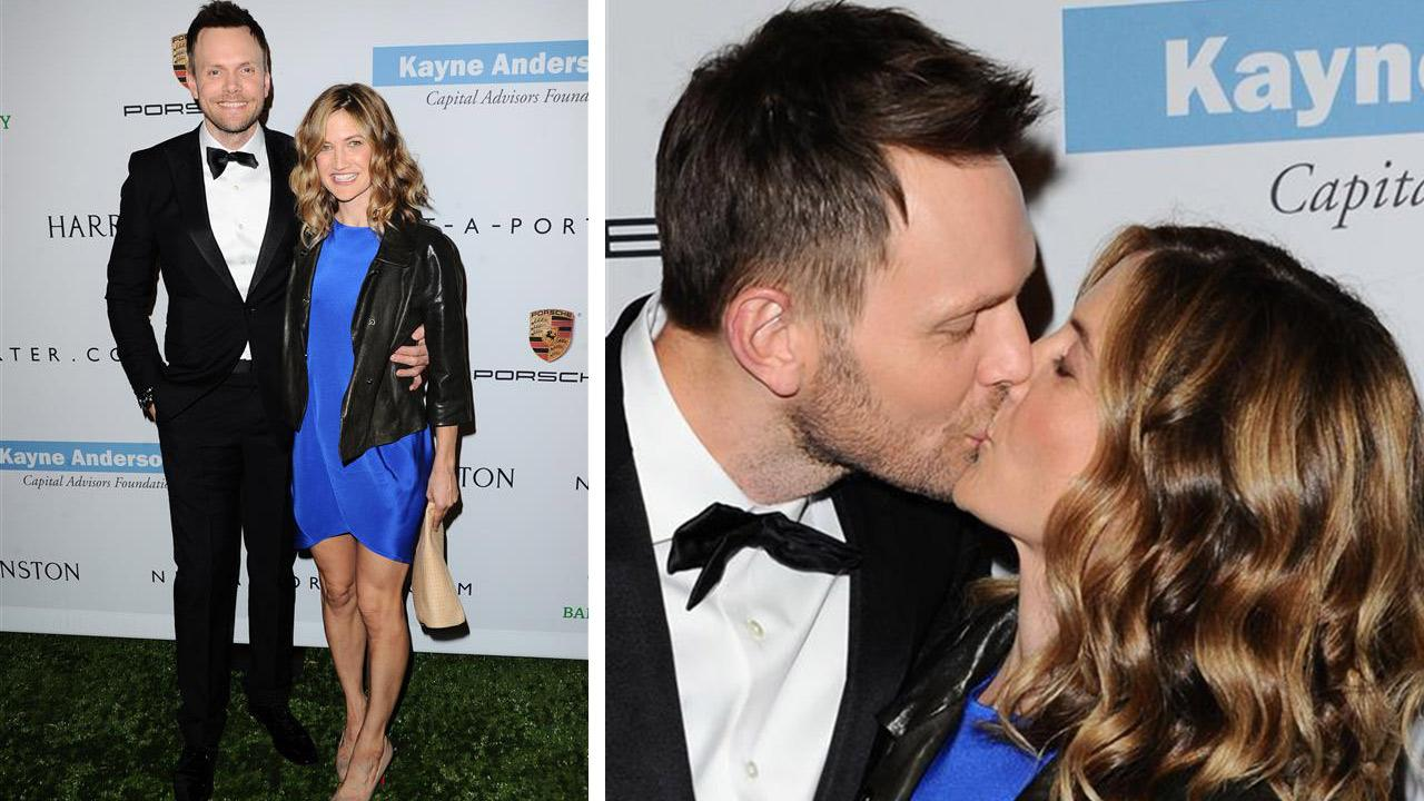 Joel McHale and his wife, Sarah Williams, attend the 2013 Baby2Baby Gala in Culver City, California on Nov. 9, 2013. It was announced on Feb. 14, 2014 that McHale will be the entertainer at the 2014 White House Correspondents Association dinner.