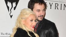 Christina Aguilera and boyfriend Matt Rutler appear at the Elder Scrolls V Skyrim launch party in Los angeles on Nov. 8, 2011. Aguilera announced on Feb. 14, 2014 that the two are engaged. - Provided courtesy of Tony DiMaio / Startraksphoto.com