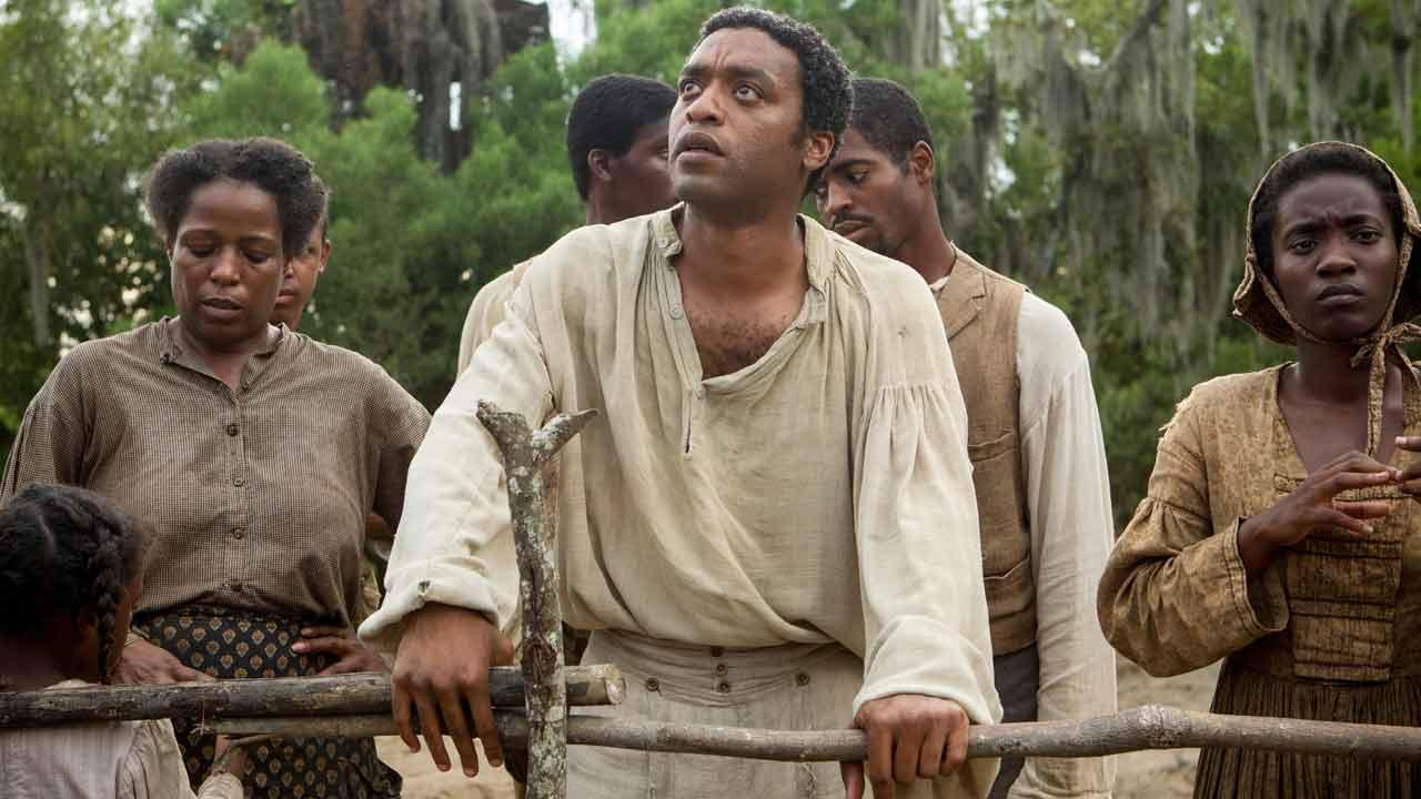 Chiwetel Ejiofor appears in a scene from the film 12 Years a Slave.