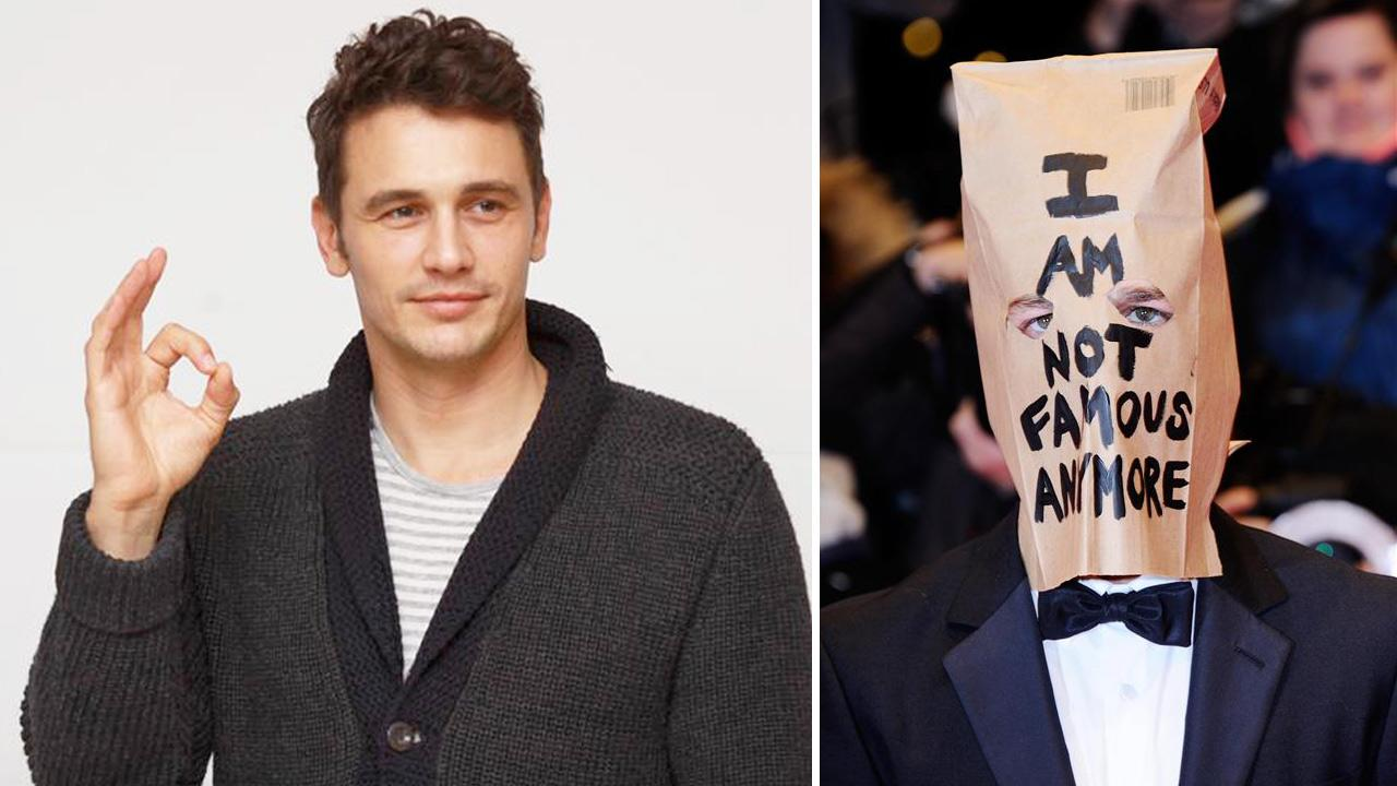 James Franco appears at a press conference for the film Homefront on Nov. 17, 2013. / Shia LaBeouf appears at the 64th Berlin Film Festival on Feb. 9, 2014.