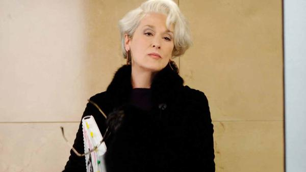 Meryl Streep appears in the 2006 film The Devil Wears Prada. She was nominated for an Oscar in the Best Actress category for her role as Miranda Priestly. - Provided courtesy of 20th Century Fox