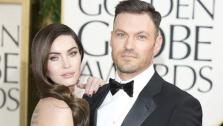 : Megan Fox and Brian Austin Green appear at the 70th annual Golden Globe Awards in Los Angeles, California on Jan. 13, 2013. - Provided courtesy of Guido Ohlenbostel / startraksphoto.com