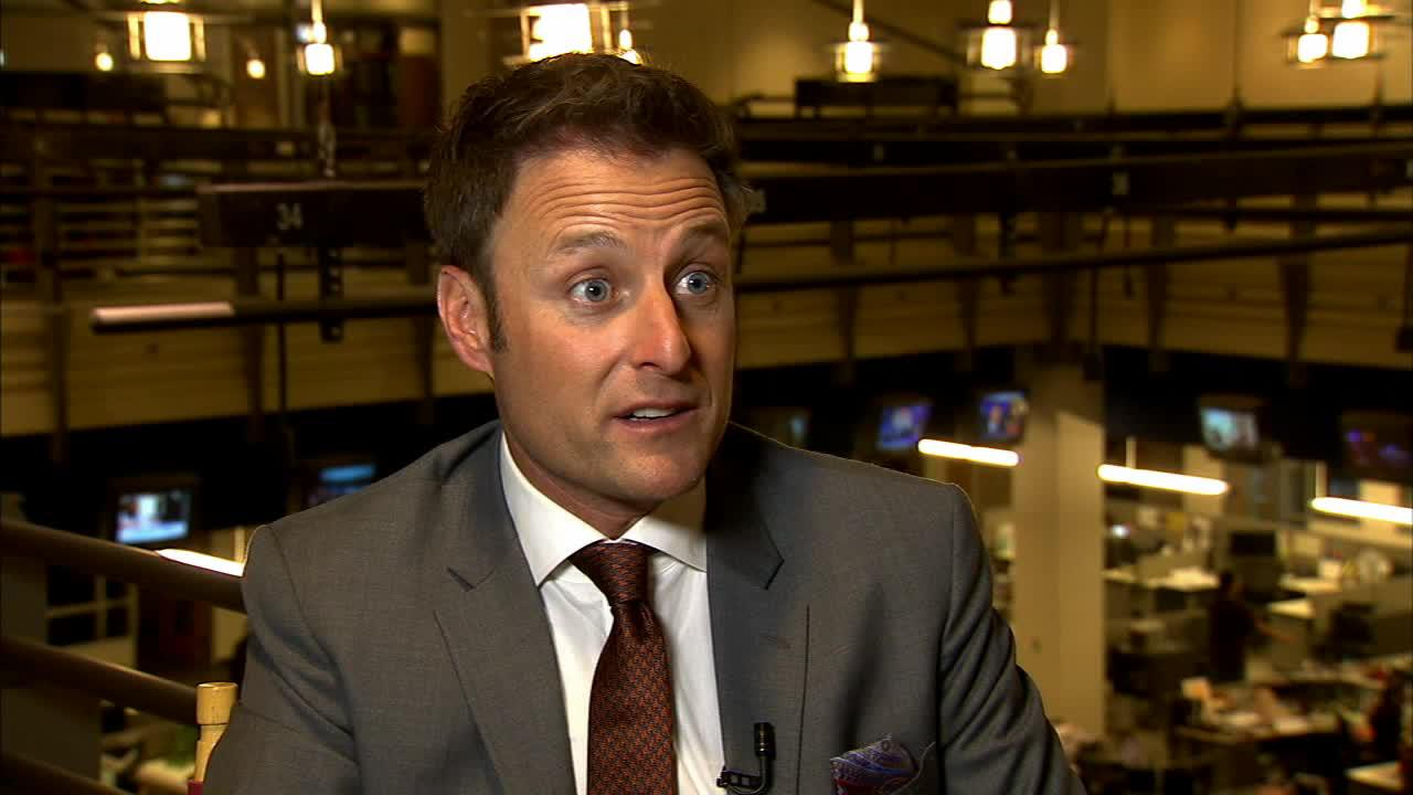 The Bachelor host Chris Harrison talks to OTRC.com about season 18 of the series, which stars Juan Pablo Galavis, in an interview carried out at parent company KABC Televisions studios near Los Angeles on Feb. 19, 2014.