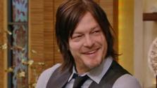 Norman Reedus, who plays Daryl Dixon on The Walking Dead, appears on LIVE with Kelly and Michael on Friday, Feb. 21, 2014. - Provided courtesy of WABC