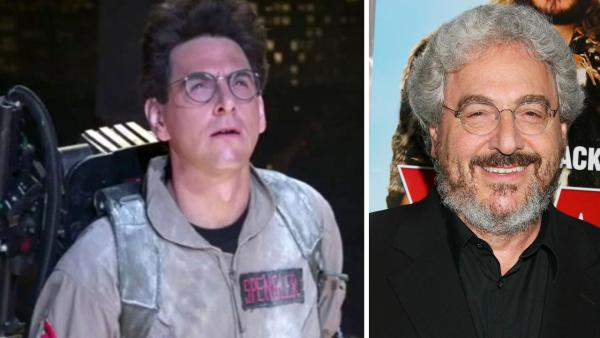 Harold Ramis appears as Egon in a scene from the 1984 movie 'Ghostbusters.' / Harold Ramis appears at the premiere of the movie 'Year One' in New York on June 15, 2009.