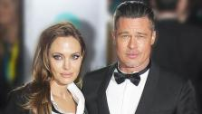 Angelina Jolie and Brad Pitt appear at the 2014 British Academy Film Awards (BAFTA) on Feb. 16, 2014.