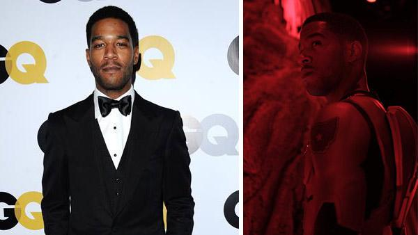 Kid Cudi appears at the GQ Men Of The Year Party in Los Angeles on Nov. 12, 2013. / A photo of Cudi used to promote his 2014 album Satellite Flight: The Journey to Mother Moon. - Provided courtesy of Sara De Boer/startraksphoto.com / Wicked Awesome