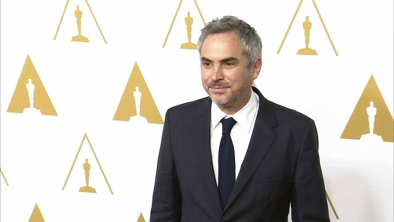 Alfonso Cuaron appears at the 2014 Oscar nominees luncheon in February 2014.