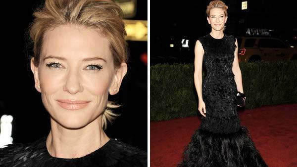 Cate Blanchett appears at the Metropolitan Museum of Art Gala in New York City on May 7, 2012. - Provided courtesy of Bill Davila / startraksphoto.com