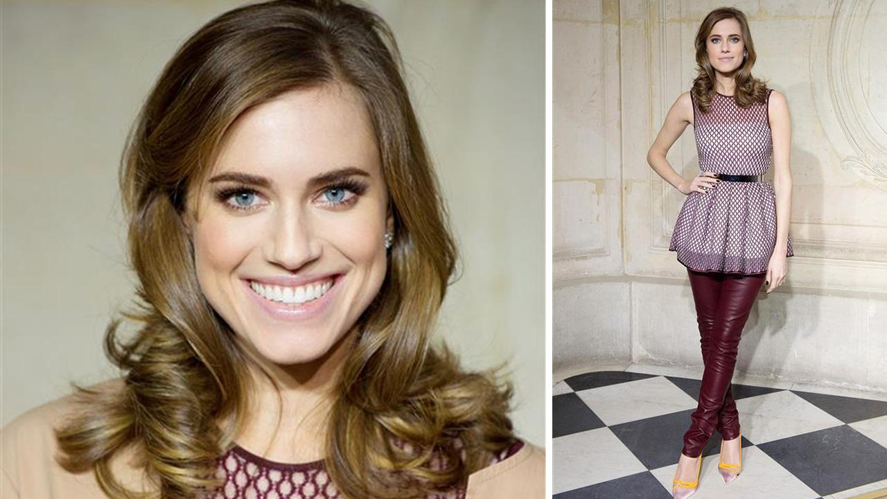 Allison Williams appears at the Christian Dior Spring-Summer 2014 Haute-Couture collection show held at Musee Rodin in Paris on Jan. 20, 2014. Her rep confirmed to OTRC.com on Feb. 26 that the Girls star is engaged to Ricky Van Veen.