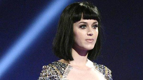 Katy Perry appears at the 2014 Brit Awards in London on Feb. 19, 2014. - Provided courtesy of Richard Young/Rex/startraksphoto.com