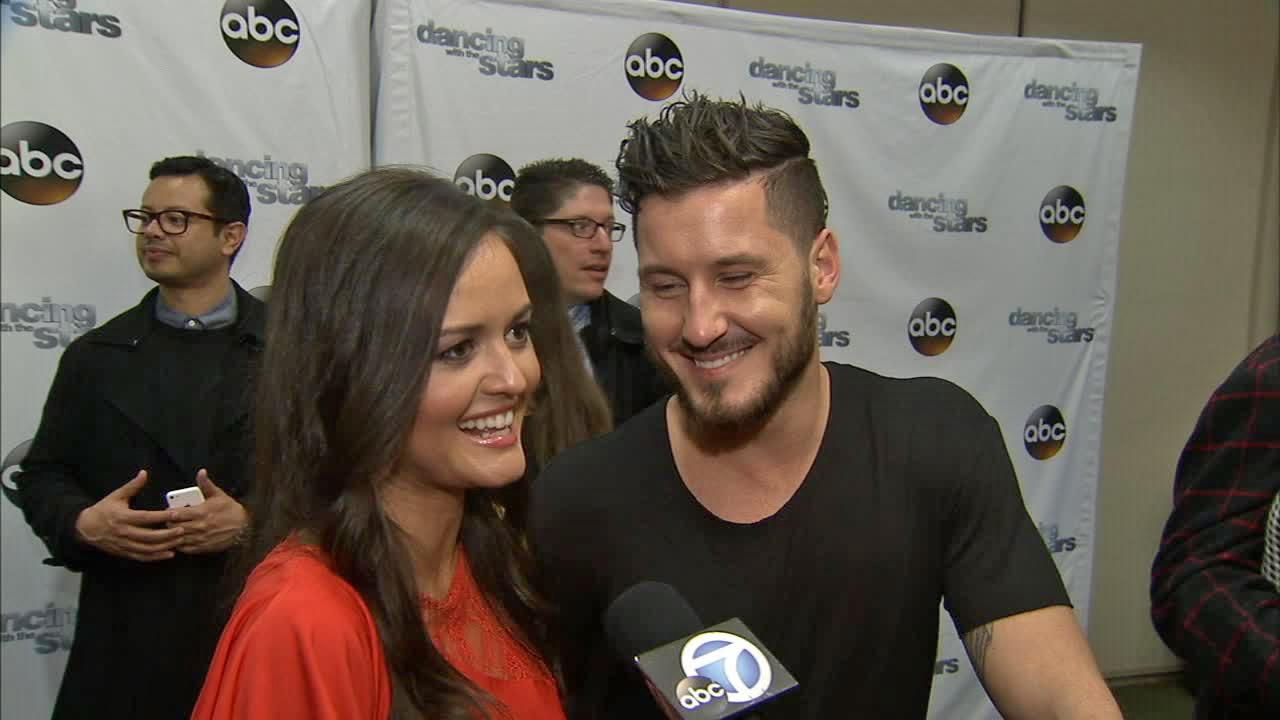 Dancing With The Stars cast member and Wonder Years alum Danica McKellar (she played Winnie Cooper) and partner Val Chmerkovskiy talk to OTRC.com on March 4, 2014, ahead of the Spring 2014 premiere of the ABC show.