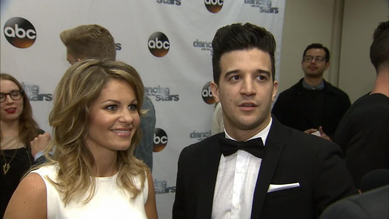 Dancing With The Stars cast member and Full House alum Candace Cameron Bure (she played DJ Tanner) and partner Mark Ballas talk to OTRC.com on March 4, 2014, ahead of the Spring 2014 premiere of the ABC show.