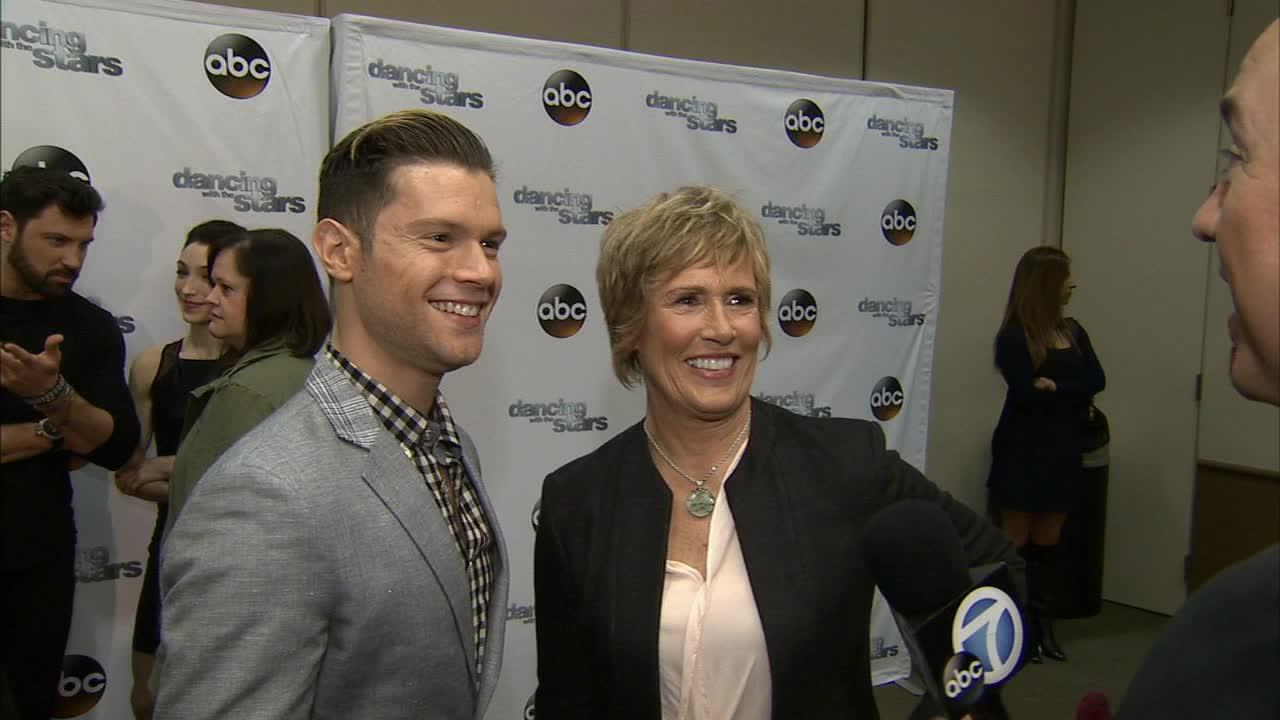 Dancing With The Stars cast member Diana Nyad and partner Henry Byalikov talk to OTRC.com on March 4, 2014, ahead of the Spring 2014 premiere of the ABC show.