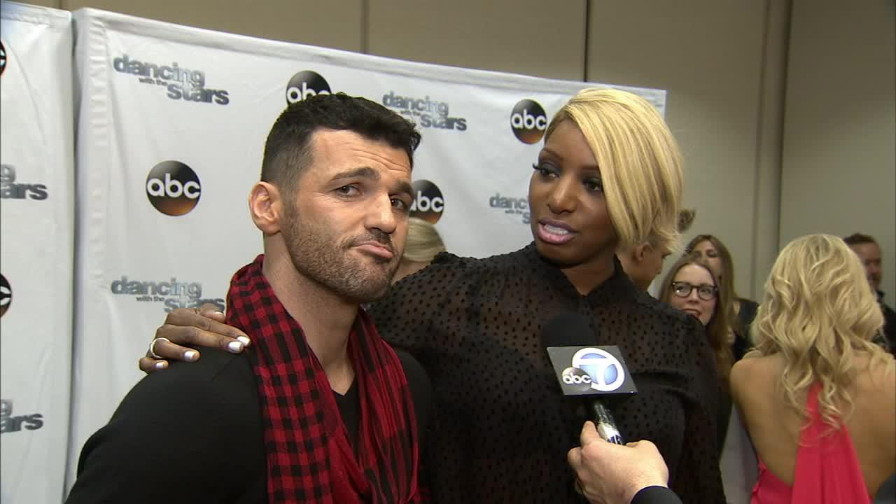 Dancing With The Stars cast member, Real Housewives star and TV actress NeNe Leakes and partner Tony Dovolani talk to OTRC.com on March 4, 2014, ahead of the Spring 2014 premiere of the ABC show.