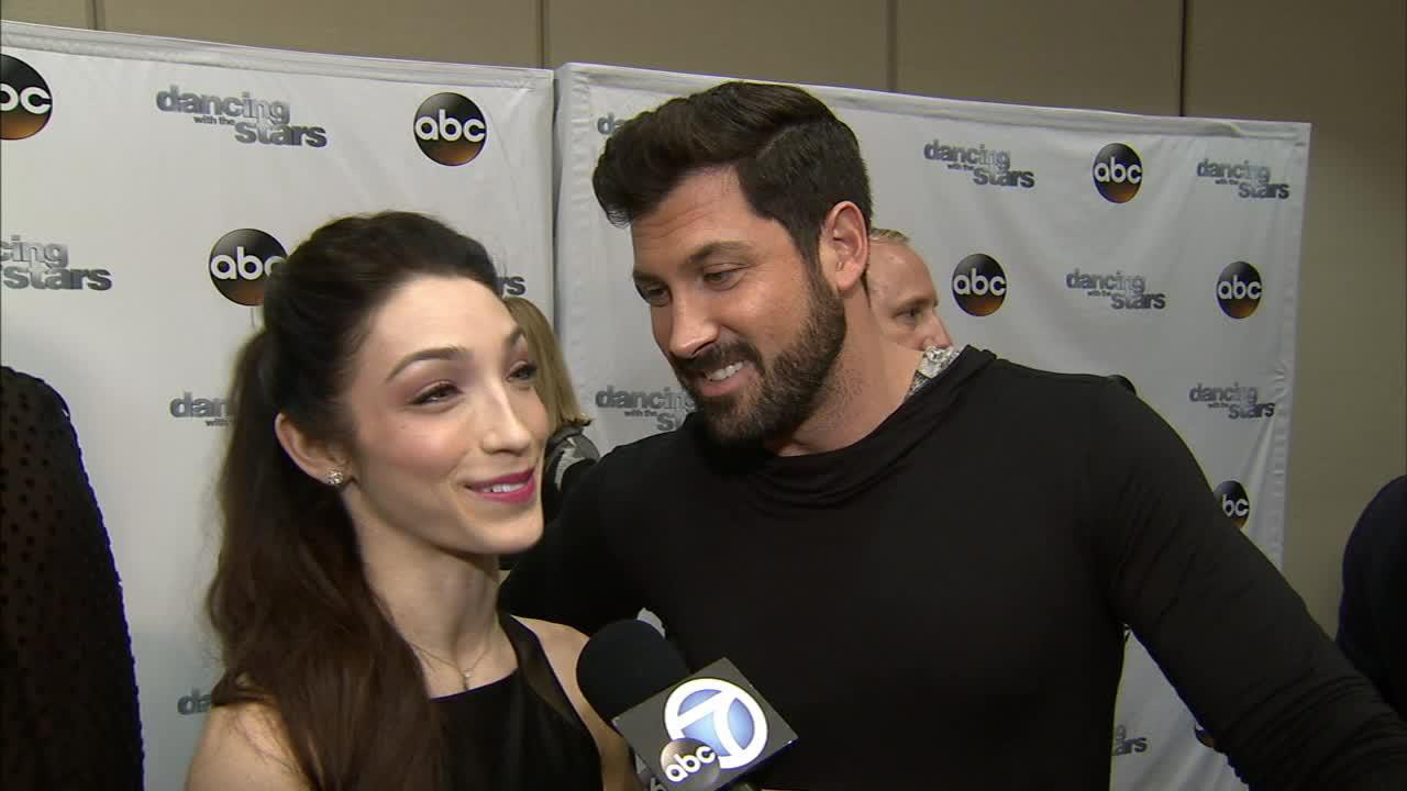 Dancing With The Stars cast member Meryl Davis and partner Maksim Chmerkovskiy talk to OTRC.com on March 4, 2014, ahead of the Spring 2014 premiere of the ABC show.