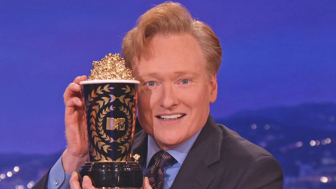 Conan OBrien appears on his show Conan on March 4, 2014.