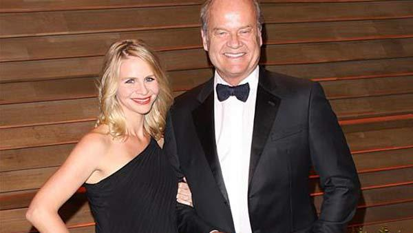 Kelsey Grammer and wife Kayte Walsh appear at the 2014 Vanity Fair Oscar party in Los Angeles, California on March 2, 2014. - Provided courtesy of Lionel Hahn / startraksphoto.com
