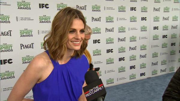 Stana Katic (Castle) at the 2014 Independent Spirit Awards on March 1, 2014 in Santa Monica, California.