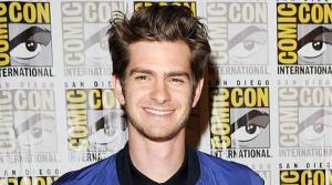 Andrew Garfield appears at Comic Con in San Deigo, California on July 19, 2013. - Provided courtesy of Daniel Robertson/startraksphoto.com