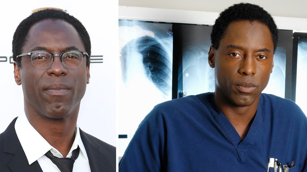 Isaiah Washington appears at the 2014 Critics Choice Movie Awards in Santa Monica, California on Jan. 16, 2014. / Isaiah Washington appears in an undated promotional photo for Greys Anatomy.