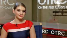 Willow Shields talks to OTRC.com in an interview on March 6, 2014. - Provided courtesy of OTRC