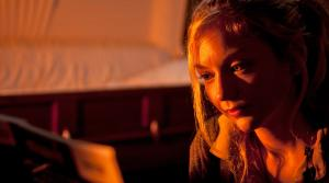 Emily Kinney appears as Beth Greene in a scene from AMCs The Walking Dead, season 4, episode 13 -- Alone -- that aired on March 9, 2014. - Provided courtesy of Gene Page / AMC