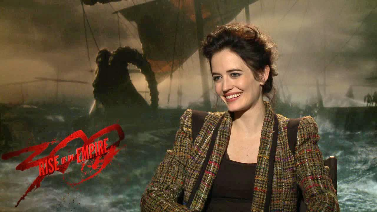 Eva Green talks to OTRC.com in a March 2014 interview to promote the movie 300 Rise Of An Empire, in which she plays Artemisia.