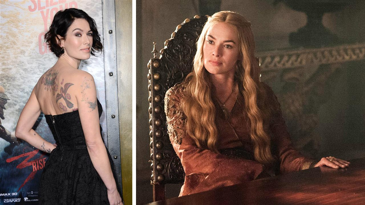 Lena Headey appears at the 2014 Screen Actors Guild (SAG) Awards in Los Angeles on Jan. 18, 2014. / Lena Headey appears as Cersei Lannister in a scene from the HBO show Game Of Thrones in 2014. <span class=meta>(Hollywood Press &#47; Abacausa &#47; Startraksphoto.com &#47; HBO &#47; Helen Sloan)</span>