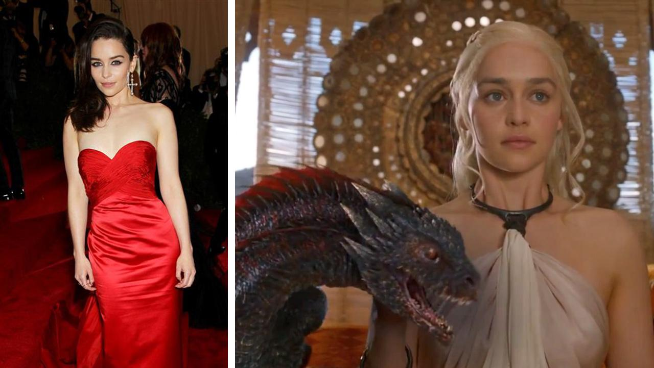 Emilia Clarke appears as Daenerys Targaryen in a scene from season 4 of Game of Thrones, which premieres on April 6, 2014. <span class=meta>(Marion Curtis &#47; Startraksphoto.com  &#47; HBO)</span>