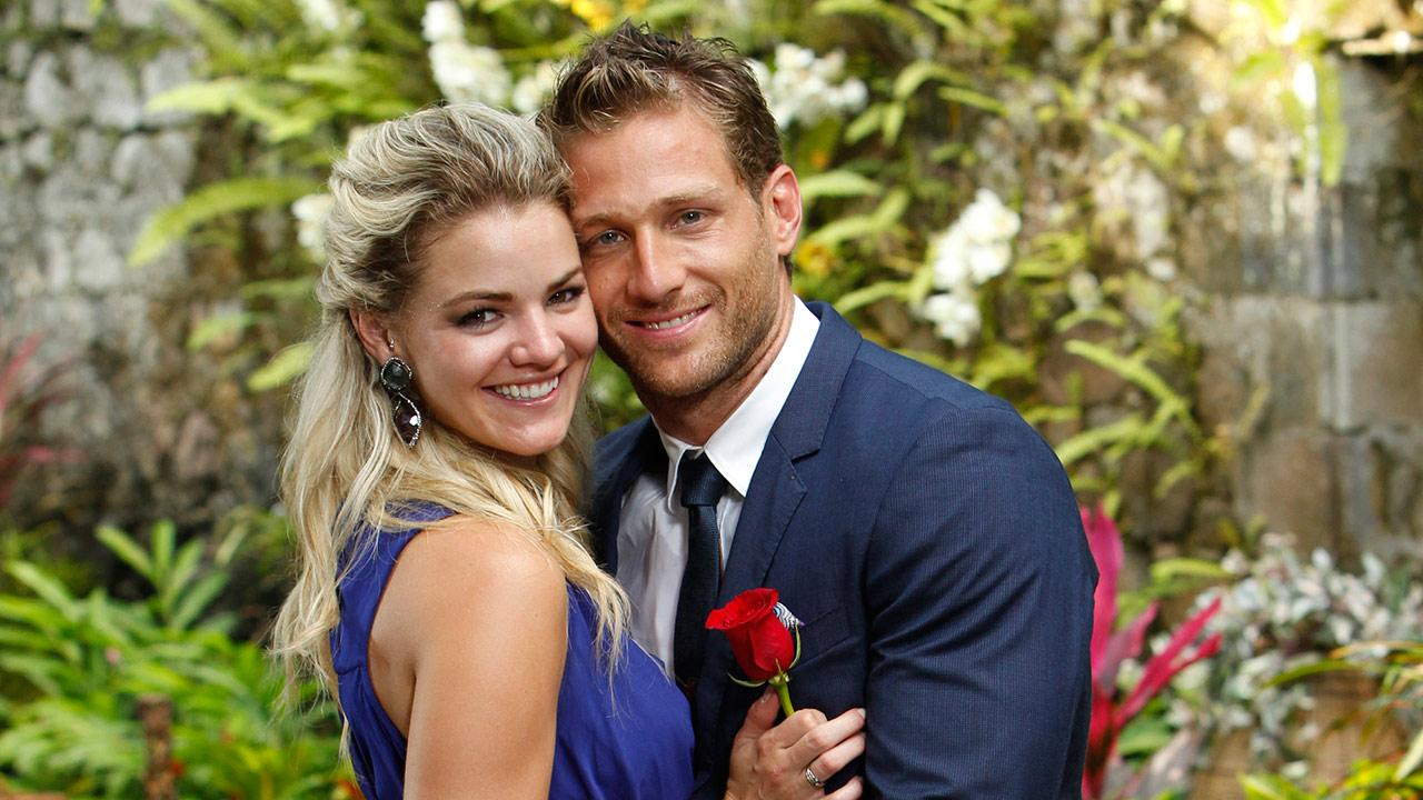 The Bachelor star Juan Pablo Galavis and winner Nikki appear in St. Lucia in a publicity photo for the season 18 finale of ABCs The Bachelor, which aired on March 10, 2014.