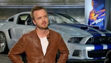 Aaron Paul appears in an interview with OTRC.com for Need for Speed on March 4, 2014. - Provided courtesy of OTRC