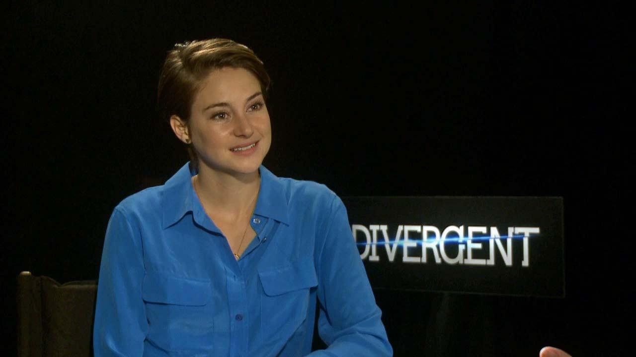 Shailene Woodley talks to OTRC.com about Divergent, in theaters on March 21, 2014.