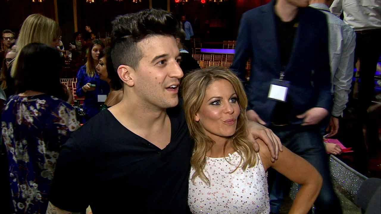 Candace Cameron Bure and Mark Ballas talk to OTRC.com after week 1 on Dancing With The Stars season 18 on March 17, 2014.