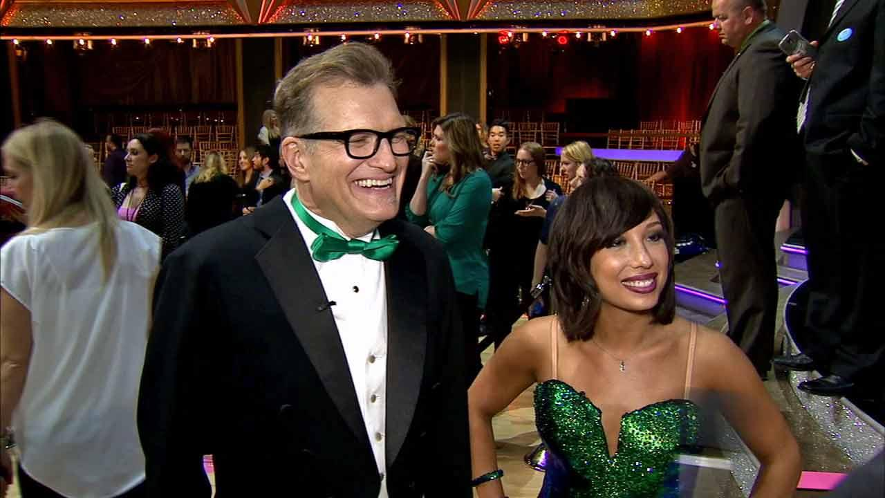 Drew Carey and Cheryl Burke talk to OTRC.com after week 1 on Dancing With The Stars season 18 on March 17, 2014.