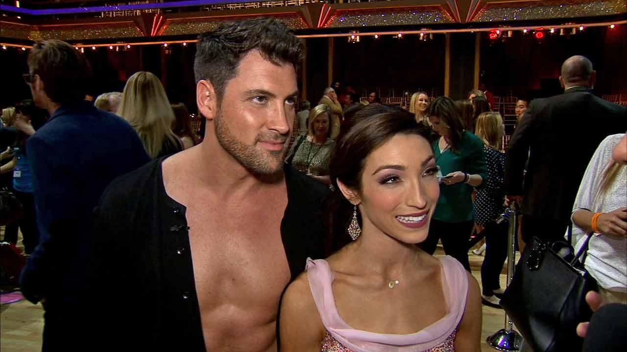 Meryl Davis and Maksim Chmerkovskiy talk to OTRC.com after week 1 on Dancing With The Stars season 18 on March 17, 2014.