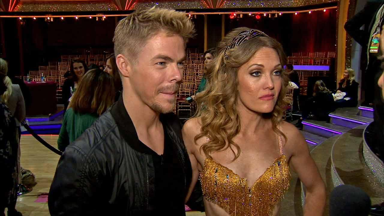 Amy Purdy, Derek Hough talk to OTRC.com after week 1 on Dancing With The Stars season 18 on March 17, 2014.